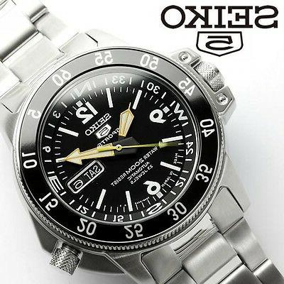 SEIKO 5 SPORTS SKZ211J1  Automatic Day Date DIVER'S 200M Mad