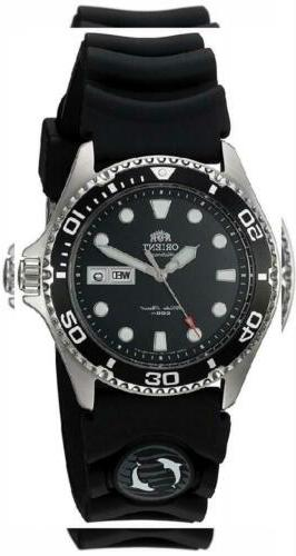 Orient Men's 'Ray II Rubber' Japanese Automatic Stainless St