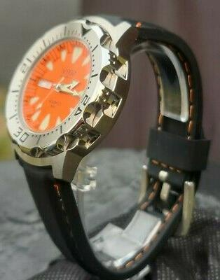 Automatic Sea Monster Watch, Norsk, Norway, Diver, Seiko NH36a
