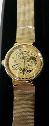FORSINING AUTOMATIC WATER RESISTANT SKELETON WATCH