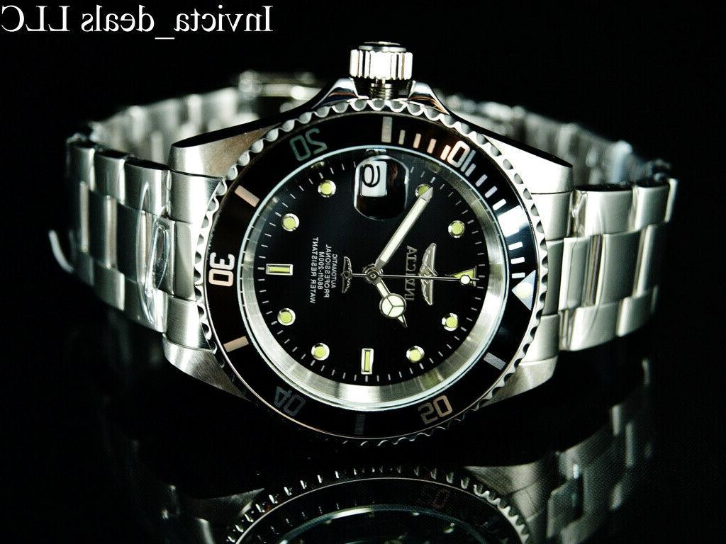 diver 17039 silver stainless steel