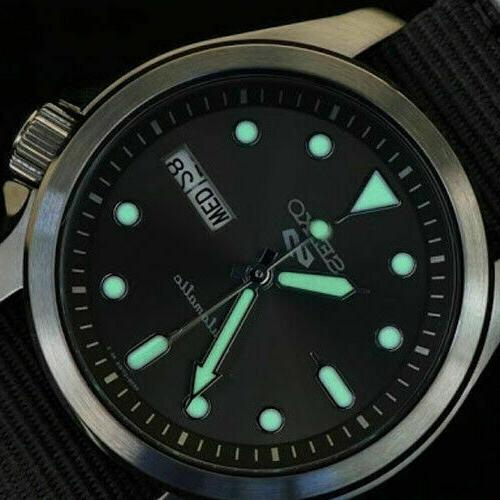 Seiko In Automatic Watch 100 Meter Dial