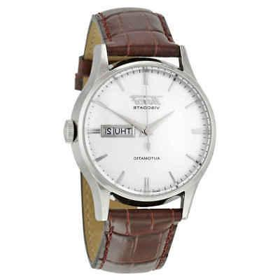 heritage visodate automatic men s watch t019
