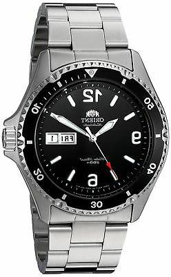 Orient Mako II Automatic FAA02001B9 Black Dial Stainless Ste