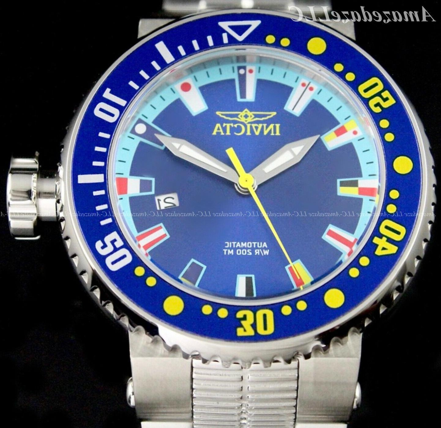 Invicta Men PRO Stainless NH35A Watch