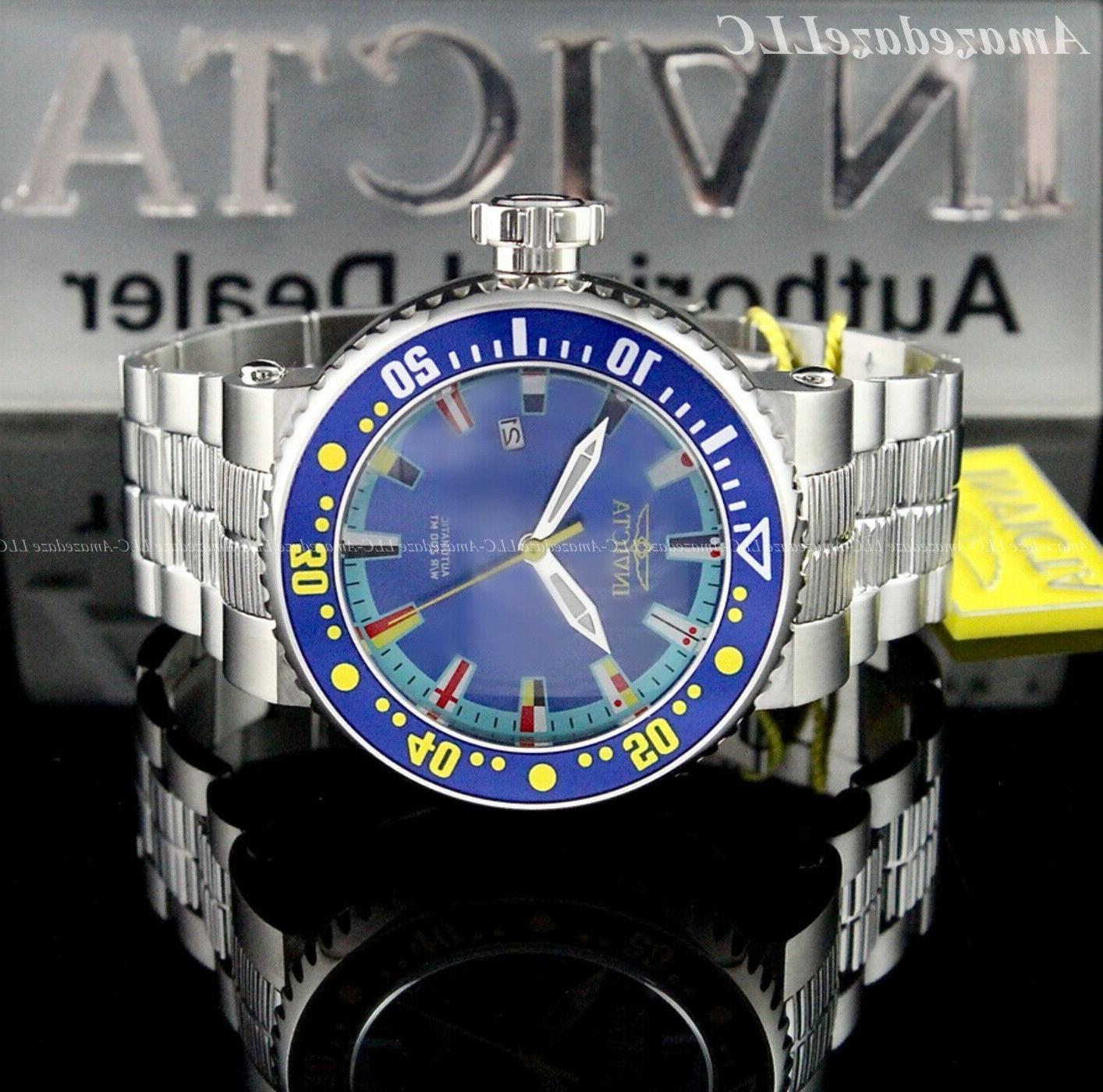 Invicta Men PRO Dial Stainless Watch