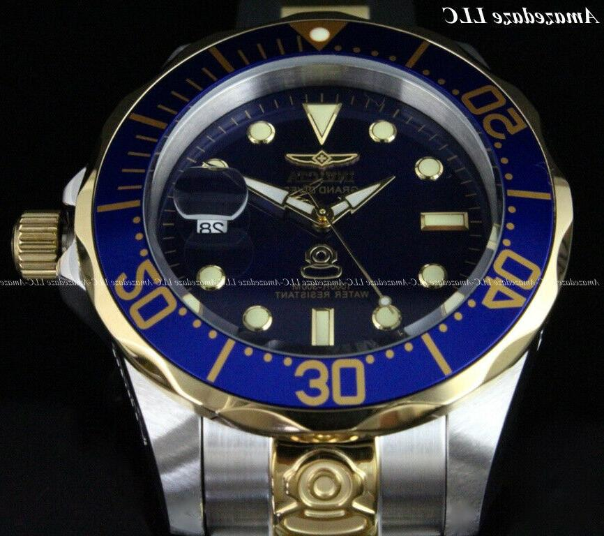 Invicta Men's DIVER Blue Dial Stainless Steel !!