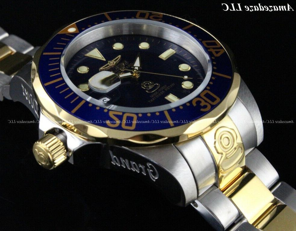 Invicta Men's 47mm DIVER Automatic Dial Stainless 300M Watch !!