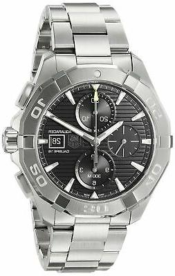 TAG Heuer Men's Aquaracer Swiss-Automatic Watch with Stainle