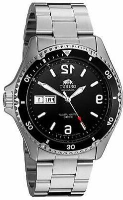 Orient Men's Mako II Automatic Stainless Steel Diving Watch