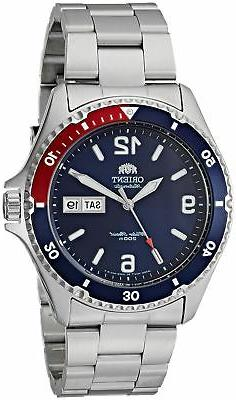 Orient Men's 'Mako II' Japanese Automatic Stainless Steel Ca