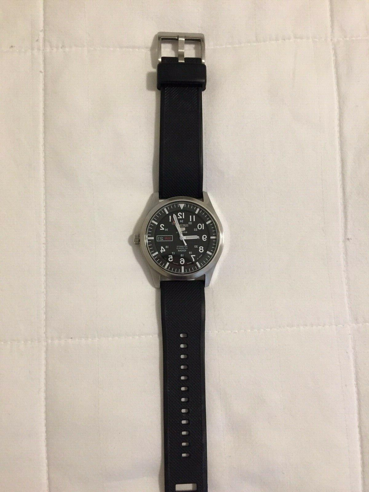 Mens Automatic Made Japan 5 Watch: Model SNZG13J1