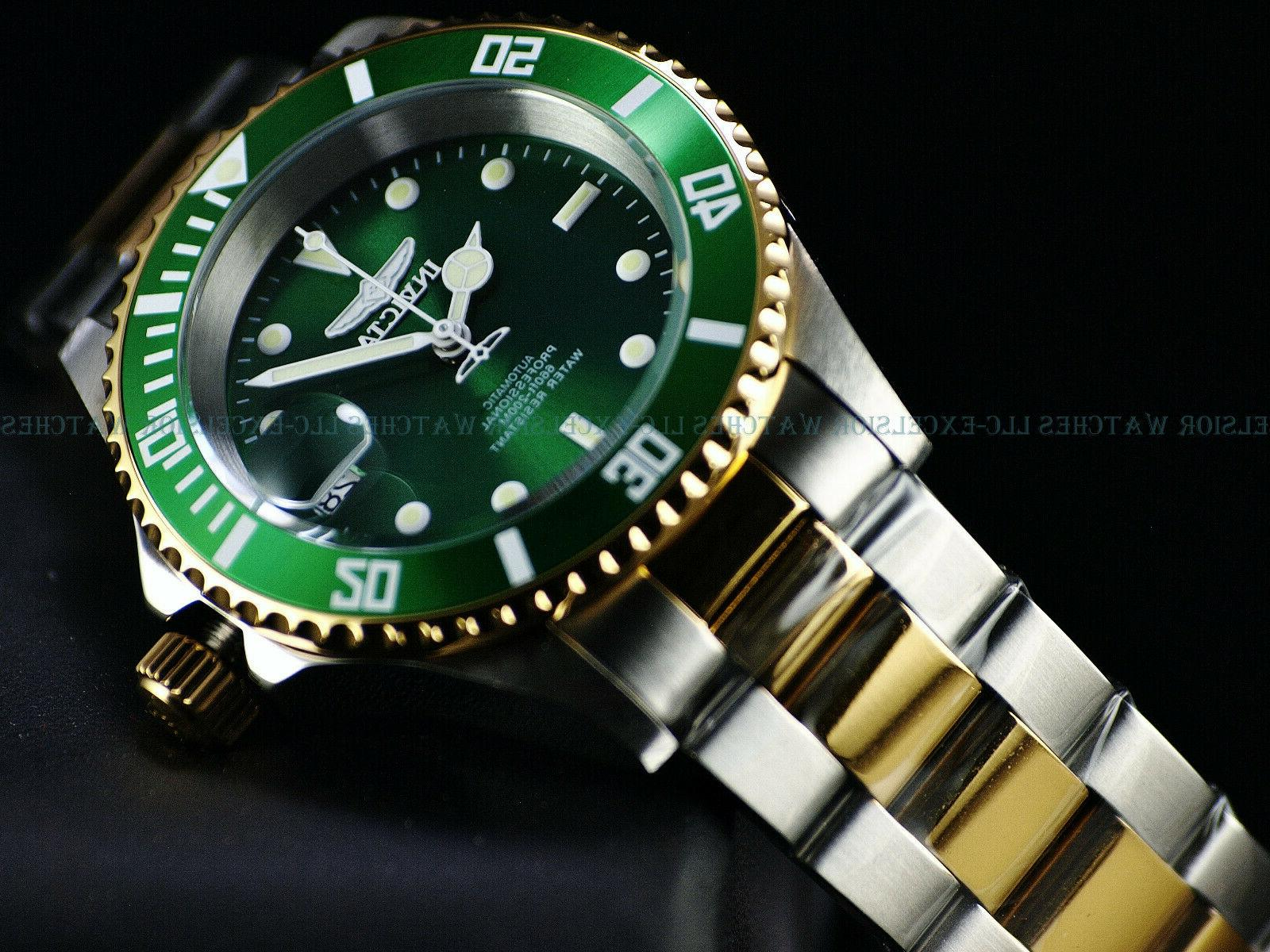 Edge PRO NH35 Automatic SS Green Watch