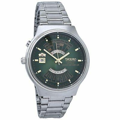 multi year automatic green dial men s