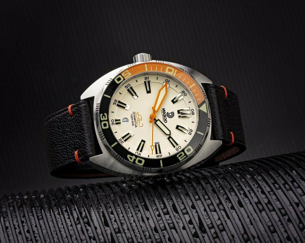 New Ocean Crawler Diver Swiss Automatic Lume SS Diver