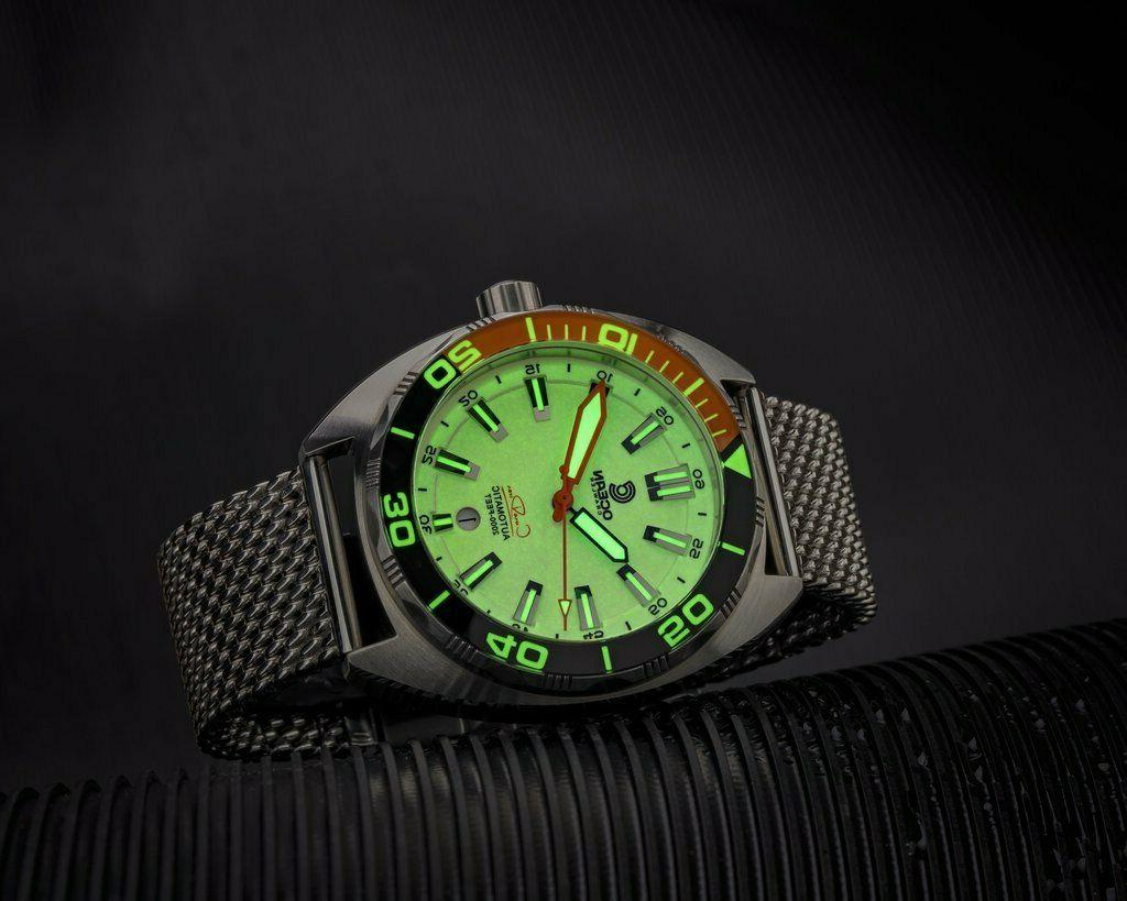 New Ocean Crawler Diver Automatic Lume Dial SS