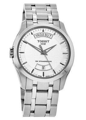 New Silver Day-Date T035.407.11.031.01