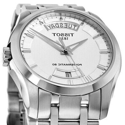 New Silver Watch T035.407.11.031.01