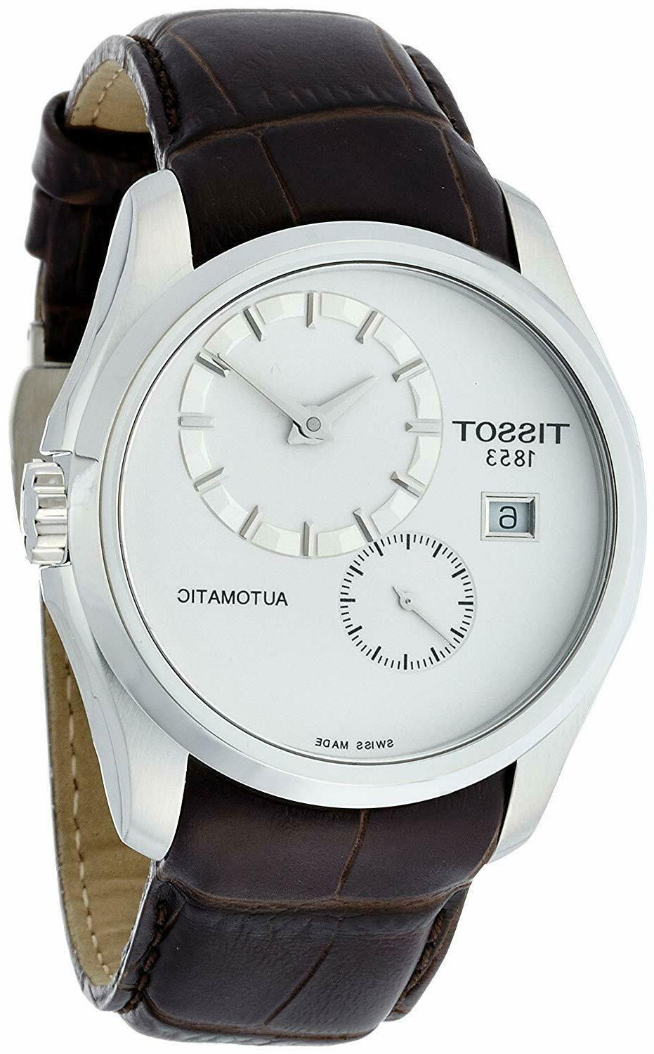 new couturier men s automatic watch t0354281603100