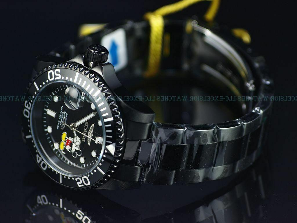 new limited edition disney pro diver automatic