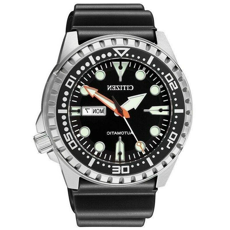 new marine men s automatic watch nh8380
