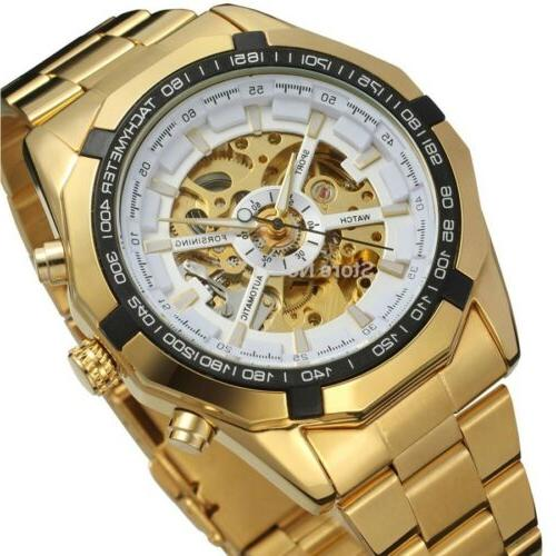 Men's Automatic Mechanical Analog Stainless
