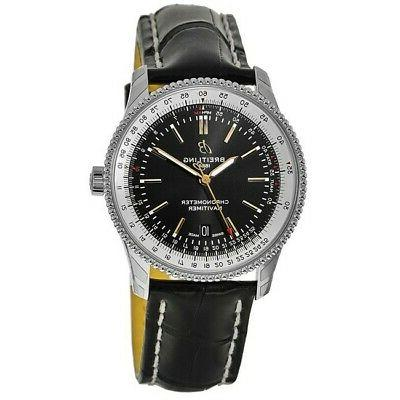 new navitimer 1 automatic 41 black dial