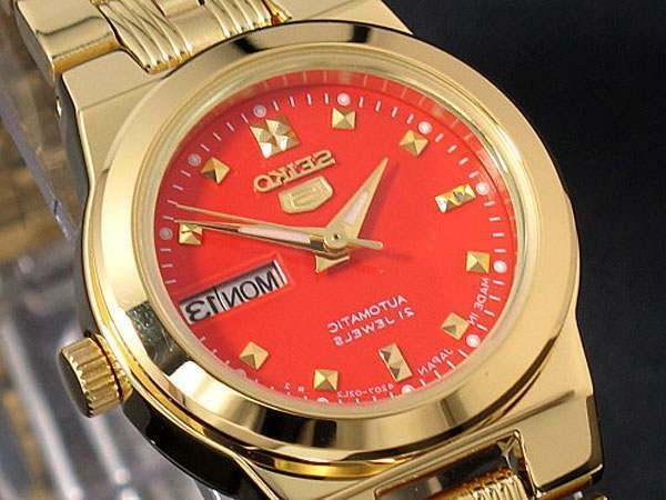 new women automatic watch analogue display stainless