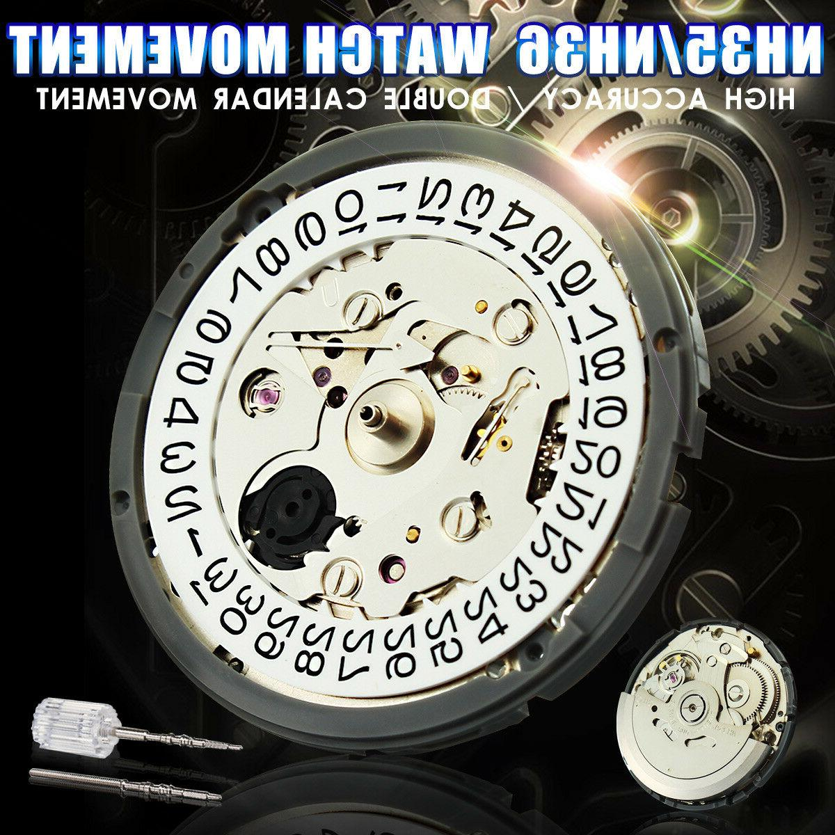 nh35 nh36 high accuracy automatic mechanical watch