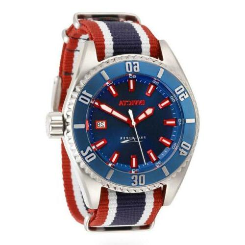 pro diver 30090 red white and blue