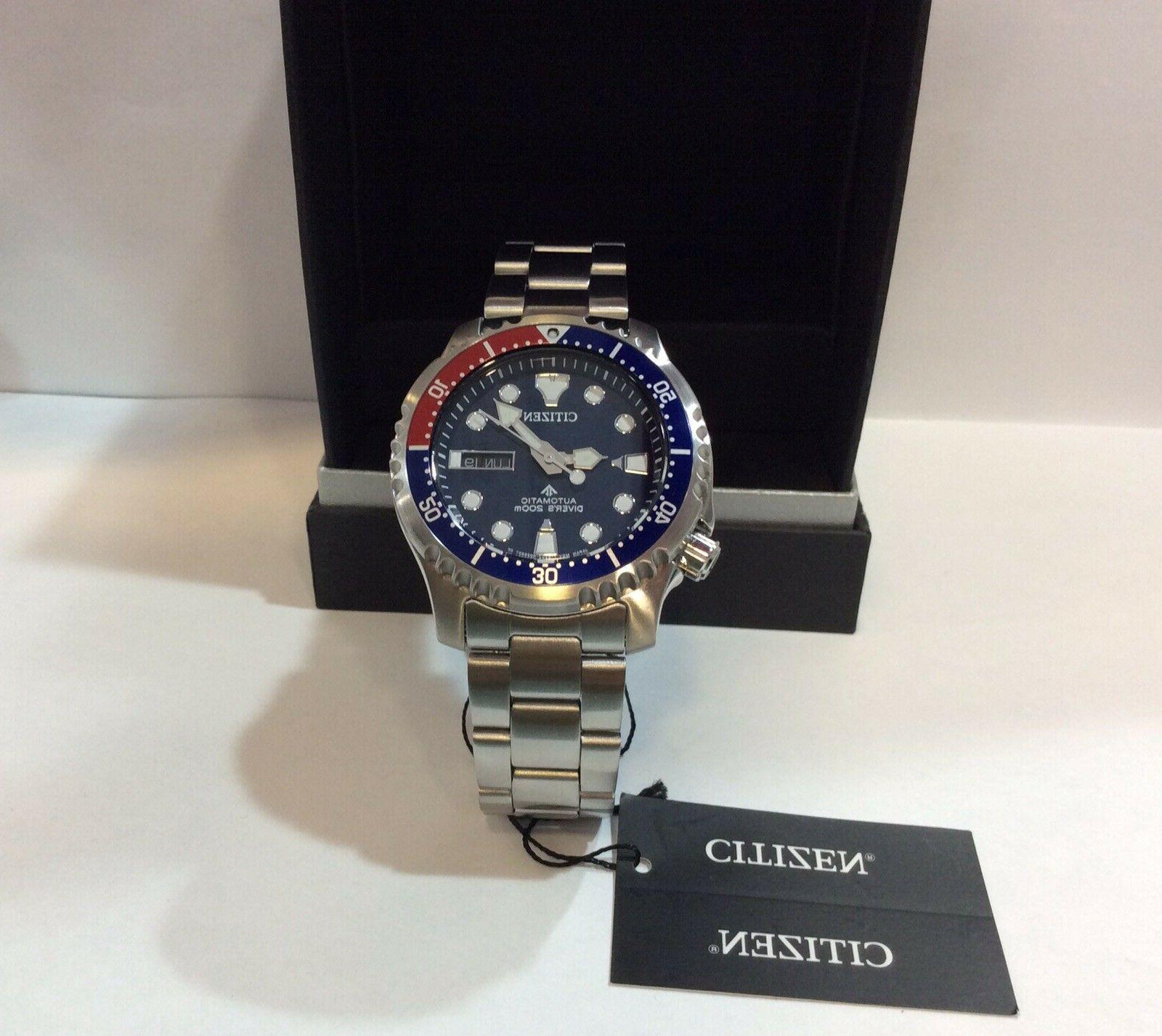 CITIZEN DIVER WATCH NY0086-83L YEARS