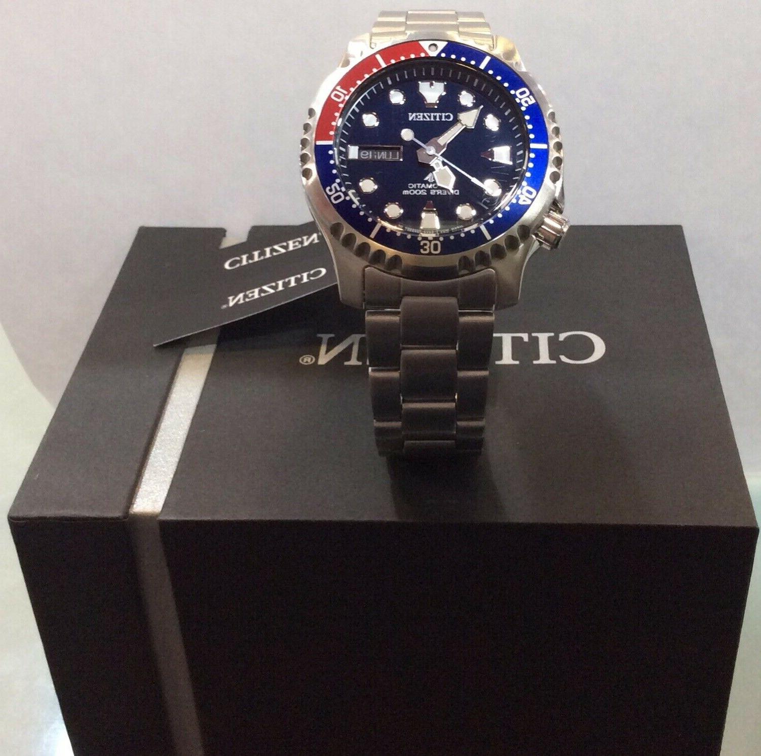 CITIZEN PROMASTER AUTOMATIC WATCH @ YEARS WARRANTY &