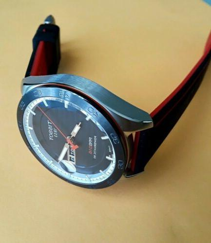 TISSOT POWERMATIC 80 AUTOMATIC SWISS 42mm RED