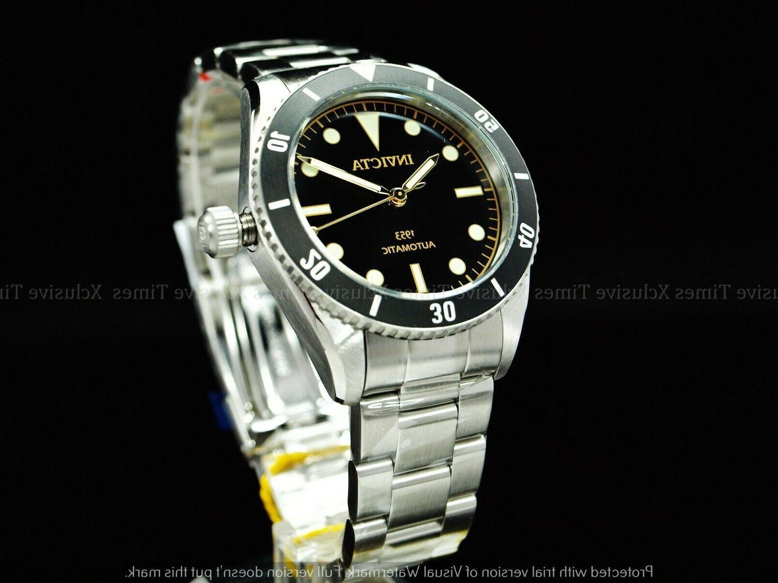 RARE Pro Diver 1953's Homage Automatic NH35 Black SS Watch