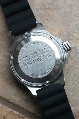 Russian Mechanical Automatic Watch DIVER 120849