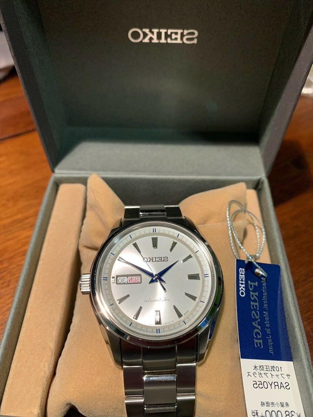 sary055 presage mechanical automatic men s watch