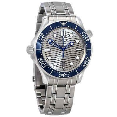 seamaster automatic grey dial men s watch