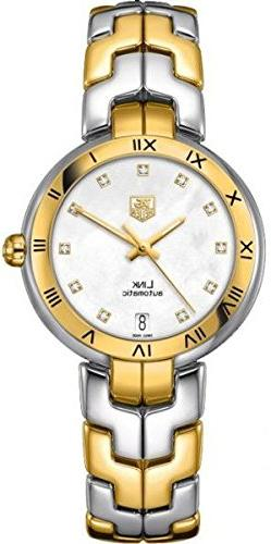 TAG Heuer Women's WAT2351.BB0957 Diamond-Accented 18k Gold a