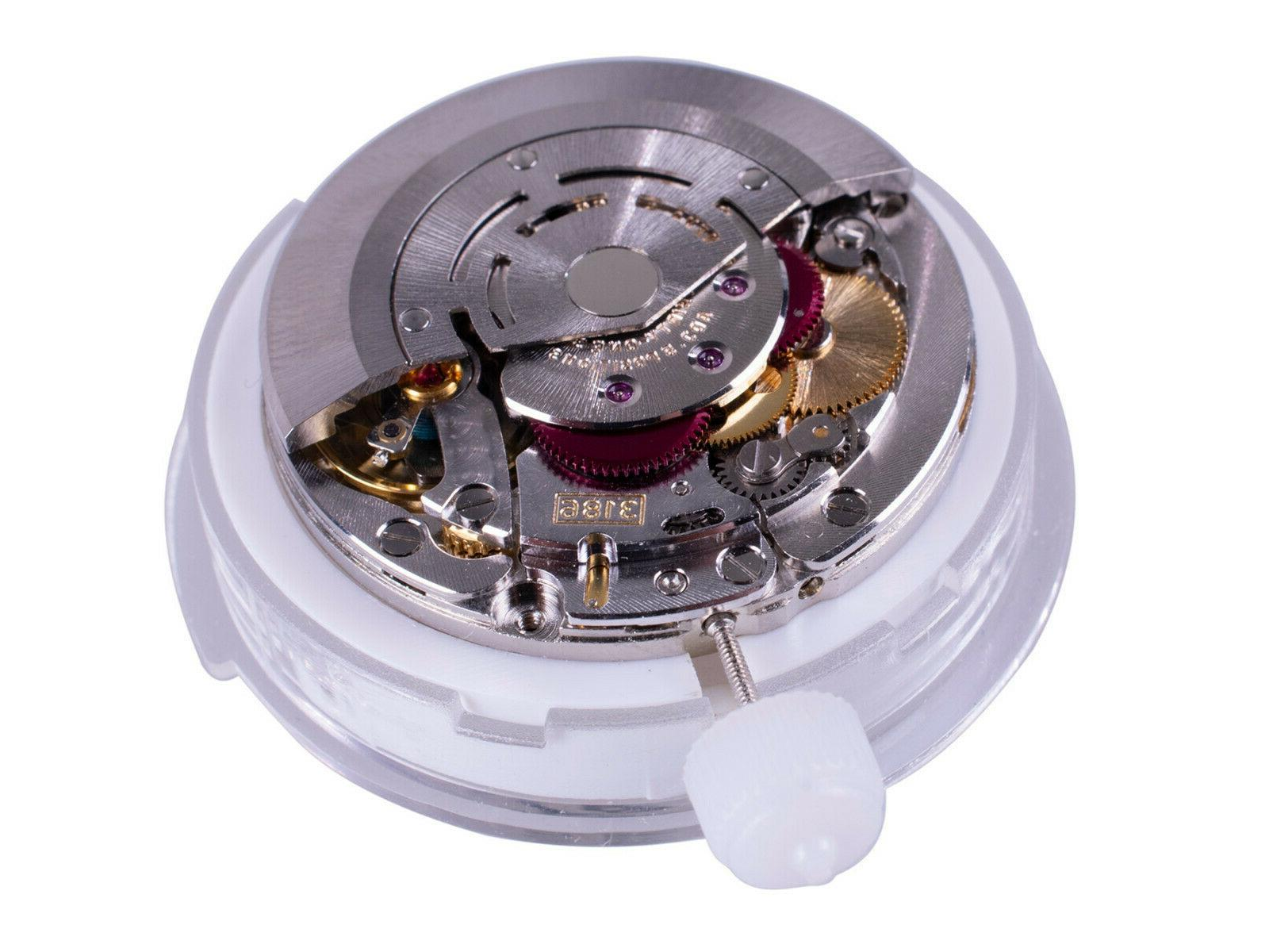 Watch 3186 GMT II Perlage Automatic Movement Replacement