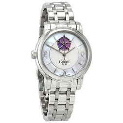 Tissot Lady Heart Automatic White MOP Dial Ladies Watch T050