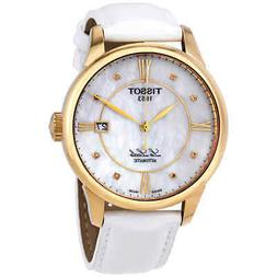 Tissot Le Locle Automatic Diamond MOP Dial Ladies Watch T41.