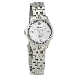 le locle automatic silver diamond dial ladies