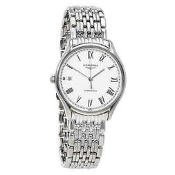 Longines Lyre Automatic White Dial Ladies Watch L48604116