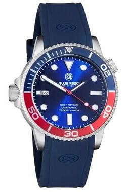 MASTER 1000 AUTOMATIC  DIVER BLUE/RED BEZEL -BLUE DIAL 20/30