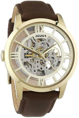 Fossil ME3043 Townsman Automatic Transparent Dial Brown leat