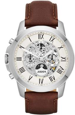 Fossil Men's ME3052 Grant Two-Hand Automatic Self Wind Leath