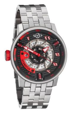 GV2 By Gevril Men's 1300B Motorcycle Sport Automatic Stainle