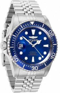 Invicta Men's 30092 Pro Diver Automatic 3 Hand Blue Dial Wat