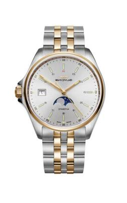 Glycine Men's 3948.313.MB Combat Classic Moonphase Automatic