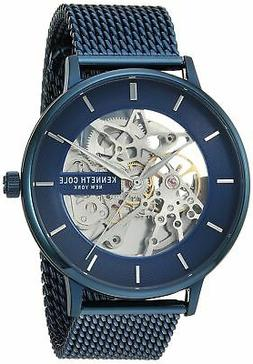 Kenneth Cole New York Men's Automatic Blue Stainless Steel W